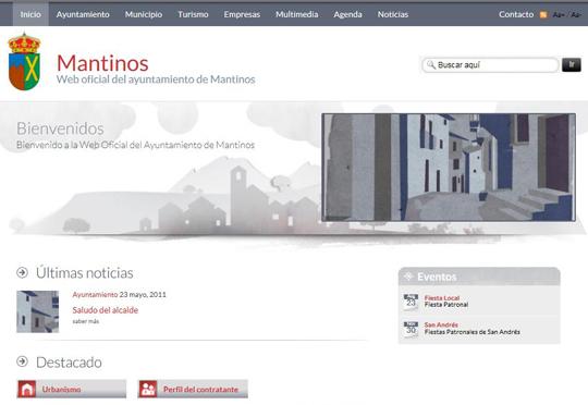 Bienvenidos a la web de Mantinos